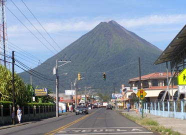Downtown La Fortuna