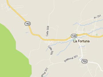 How to get to La Fortuna